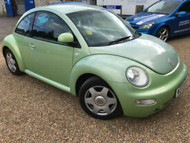 2000 'W' Volkswagen VW Beetle 2.0. Quirky Sporty Bargain Car. Px Swap