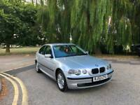 2003/53 BMW 316 1.8 ti SE Compact 3 Door Hatchback Silver( 41,000 Miles )