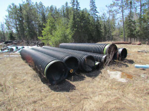 Assorted poly culverts
