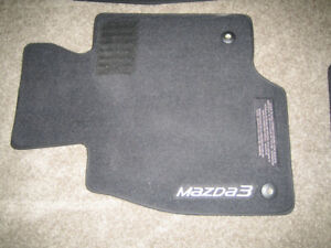 2014 Mazda 3 OEM Carpet Floor Mats (Set of 4)