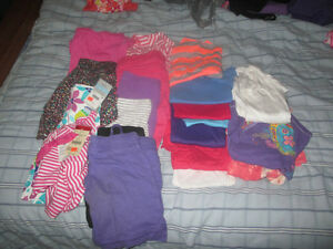 Size 5 Summer Girls Clothes Kitchener / Waterloo Kitchener Area image 1