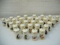 A LOVELY AND COMPLETE SET OF 30 LESLEY ANNE SPICE JARS - BRAND NEW - NEVER BEEN USED £50