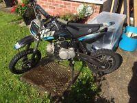 Pit bike wb 110cc 2014