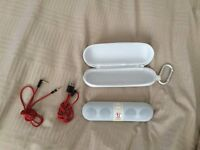 Beats Pill speaker, white, excellent condition