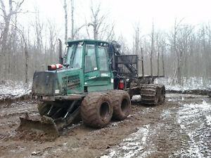 for sale 2005 timberjack forwarder