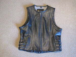 X Element Ladies Leather Vest