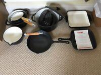 Cooks professional 8 piece cast iron set