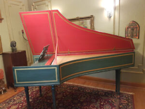 Harpsichord, French double-manual
