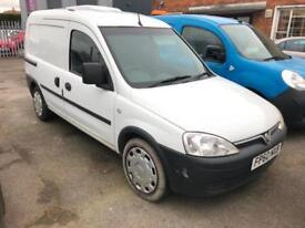 2010 Vauxhall Combo 1.3CDTi Crew van COMPLETE WITH M.O.T AND WARRANTY