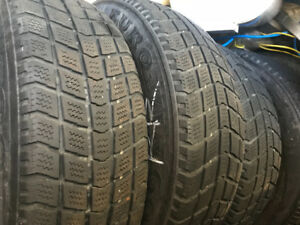 4 winter tires and rims for sale