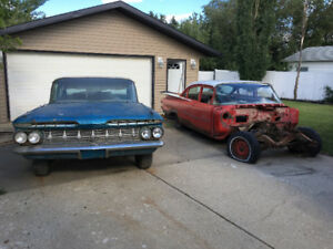 1959 Chevrolet Impala plus parts car
