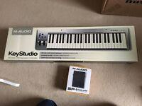 M-Audio KeyStudio 49 keys and SP-1 sustain pedal