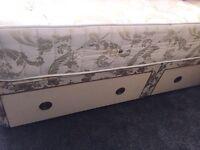 Divan Bed - Orthopaedic Mattress £170(ONO)