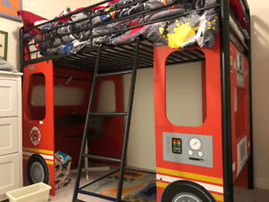 Kids fire truck bed for sale