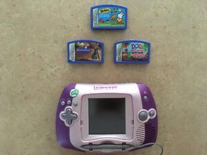 Jeu Portable Leapster 3 Jeux Inclus