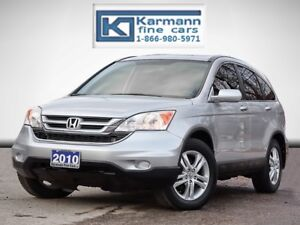 2010 Honda CR-V EX-L|AWD|Leather|Heated Seats|Sunroof|Low Kms|