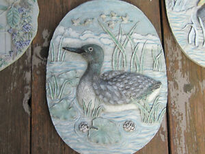 2 Sets of Wall Hangings of Ducks & Birds