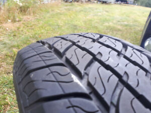 215 75R15 tires