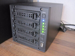4 Bays Buffalo LinkStation Quad LS-QL/R5 (RAID0, to RAID10) 4TB