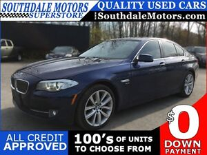 2012 BMW 5 SERIES 535I XDRIVE * AWD * LEATHER * SUNROOF * NAV *  London Ontario image 1