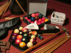 Pool Table / Light & Equipment