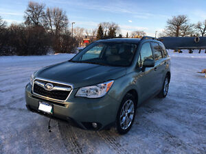 2015 Subaru Forester 2.5i Limited w/Tech Pkg SUV, Crossover