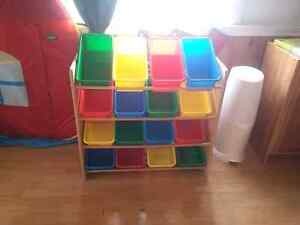 Toy Organizer Shelving Unit- Best Offer