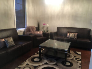 Furnitue sofa set with 2 coffe tables