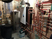 Plumber, Gas Fitter, Drain Cleaning, Boilers and Hydronics