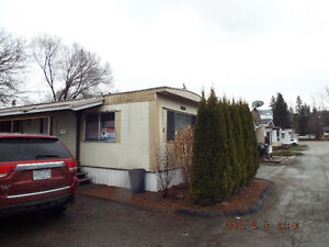 Mobile Home in downtown Lumby Park  REDUCED!