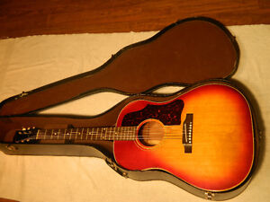 1962 Gibson J-45 With Original Case Excellent Condition