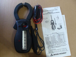 New AMPROBE RS-1007 Rotary Scale Clamp-on Multimeter