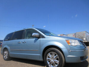 2008 CHRYSLER TOWN & COUNTRY LIMITED-DVD-DUAL HDTV-SUNROOF