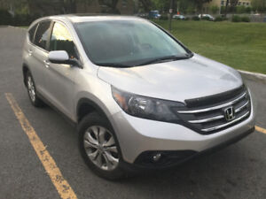 2013 Honda CRV EX-L AWD 42350km Leather interior Silver Color