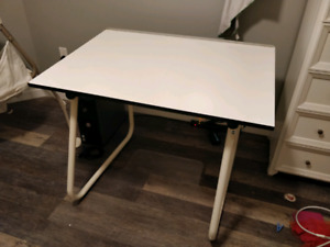 Adjustable Crafters Desk
