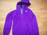 NorhtFace Spring Jacket Purple