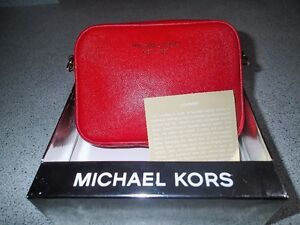 Michael Kors. The Little Red Bag. Saffiano  Red Leather