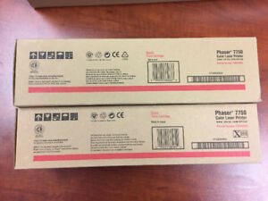 Xerox Phaser 7750 Toner Cartridges and  Imaging Unit