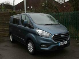 2018 Ford Transit Custom 2.0 EcoBlue 130ps Double Cab Limited Short Wheelbase L1