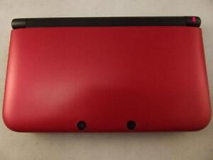 *****NINTENDO 3DS XL ROUGE + JEUX A VENDRE / RED NINTENDO 3DS XL + GAMES FOR SALE*****