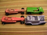Antique Tootsietoy Minature Toy Cars