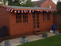 Summer house / man cave / large shed