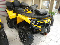 Can-Am Outlander 500 with passenger seat