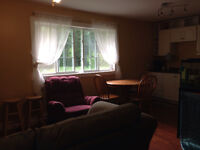 One bedroom house apartment available Dec 1st