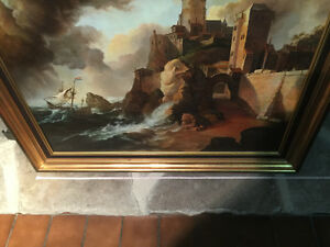 Sztorm by bogdan magnuski oil painting Kingston Kingston Area image 4