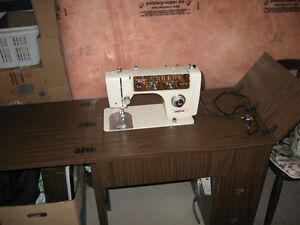Sewing Machine with cabinet