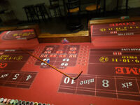 Practice craps on 14'  professional table