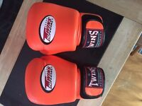 Twins boxing/ Muay Thai gloves. 16 oz