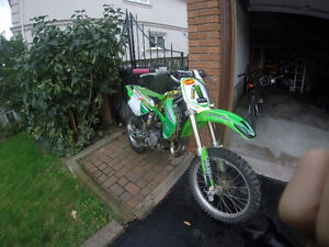 for sale or trade mint 10/10 kawasaki kx 100