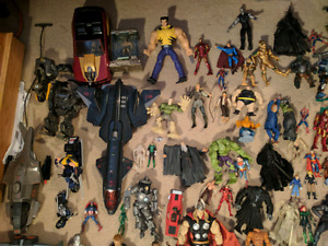 HUGE ACTION FIGURE BUNDLE